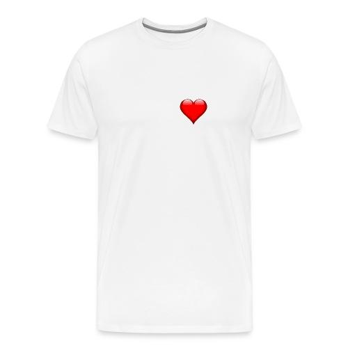 heart 157895 960 720 png - Männer Premium T-Shirt