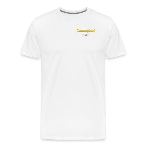 Konzeptionelle kaffee - Männer Premium T-Shirt
