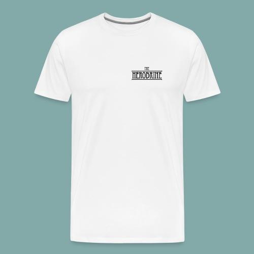 The Herobrine-Logo Flat - Men's Premium T-Shirt