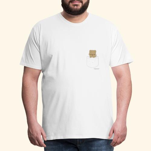 Hund in Tasche - Männer Premium T-Shirt
