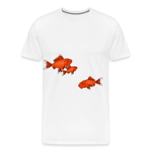 Poissons rouges - T-shirt Premium Homme
