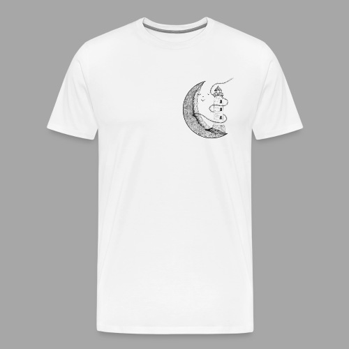 Lune Illuminée - T-shirt Premium Homme