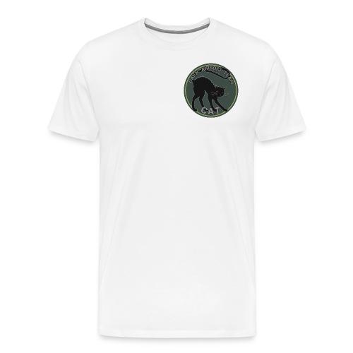 Patch CAT Officiel - T-shirt Premium Homme