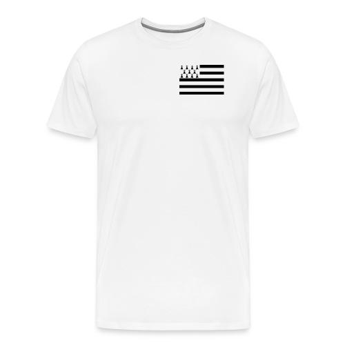 Drapeau Breton - T-shirt Premium Homme