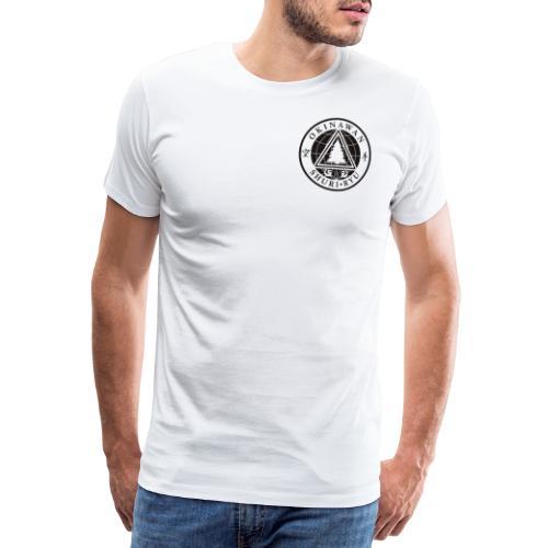 Sensei mærke Traditionel placering - Herre premium T-shirt
