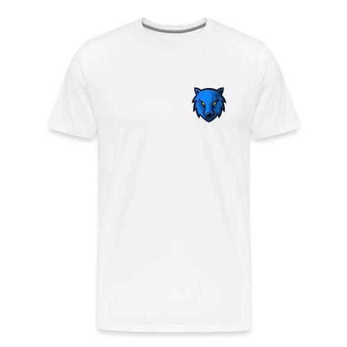 LoneWolf Blue - Camiseta premium hombre