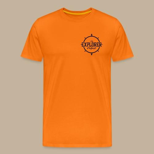 Black TEO Logo - Men's Premium T-Shirt