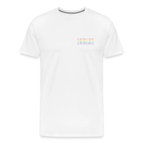 Berlin CSD Regenbogenflagge 3D - Männer Premium T-Shirt