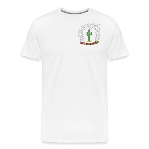 No trespassing - T-shirt Premium Homme