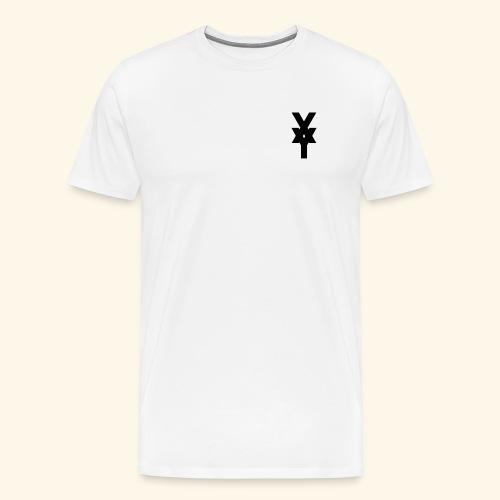 XY Logo In Black - Men's Premium T-Shirt