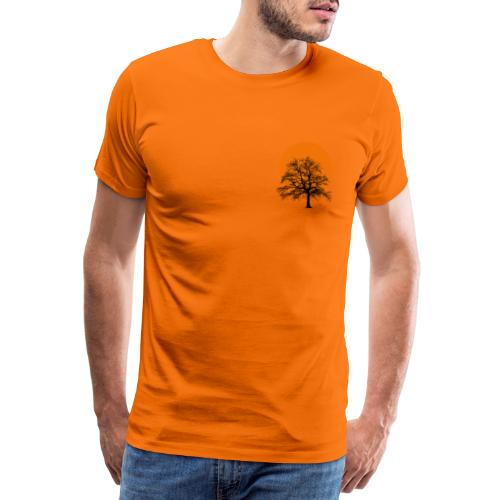 Dots Tree - Männer Premium T-Shirt