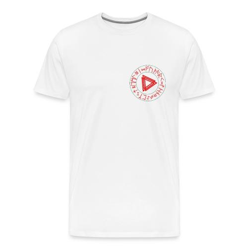 Runen Kreis - Männer Premium T-Shirt