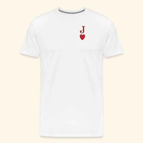 Valet de trèfle - Jack of Heart - Reveal - T-shirt Premium Homme
