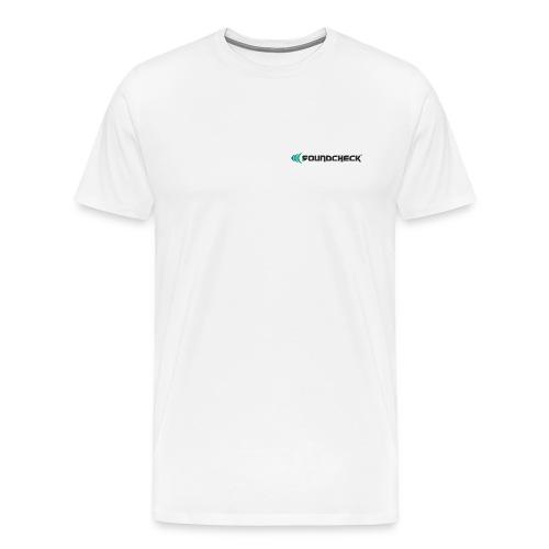 Soundcheck Logo - Männer Premium T-Shirt