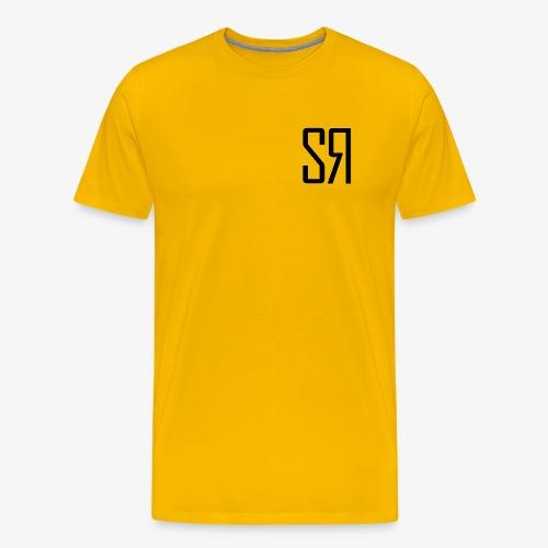 Black Badge (No Background) - Men's Premium T-Shirt