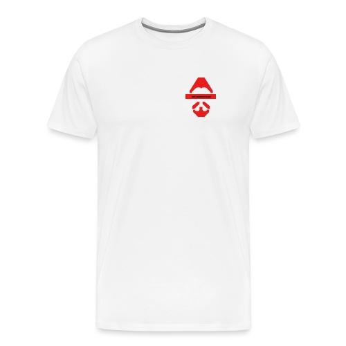Biturzartmon Logo rot glatt - Männer Premium T-Shirt