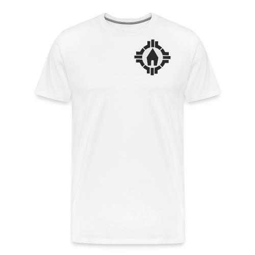 Schönstatt Logo SW - Männer Premium T-Shirt
