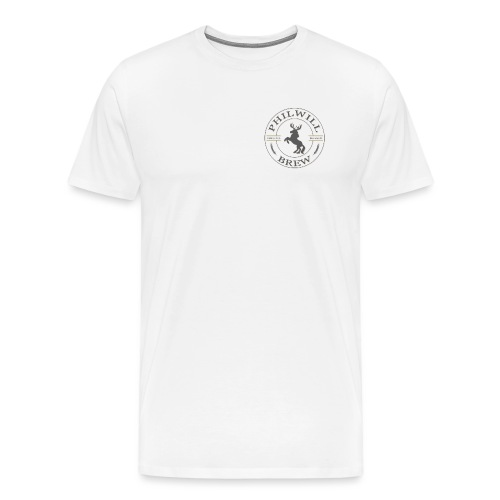 NEW LOGO v2 bigger - Herre premium T-shirt