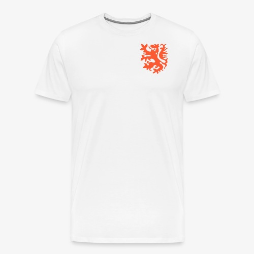 Orange lion Replica Holland 1974 - Men's Premium T-Shirt