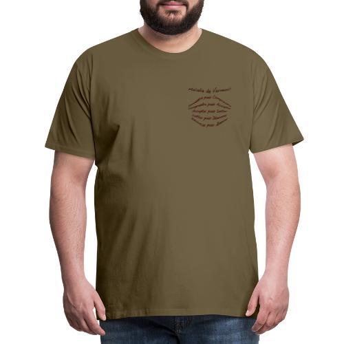 Connaître Verneuil - T-shirt Premium Homme