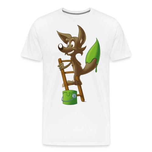 fox-marron - T-shirt Premium Homme