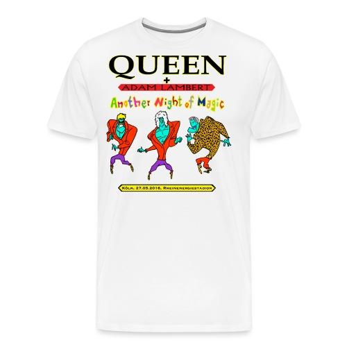 Q+AL Köln 2016 bunt 2 - Männer Premium T-Shirt