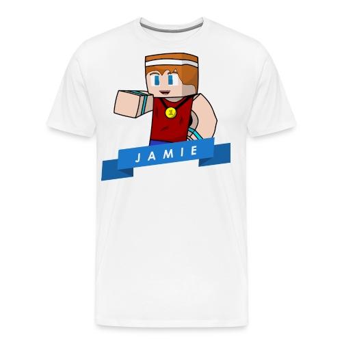 Jamie shirt vector png - Men's Premium T-Shirt