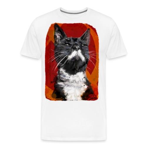 Stalin the Cat USSR - Men's Premium T-Shirt