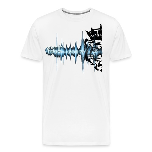 GT soundwave - Premium T-skjorte for menn