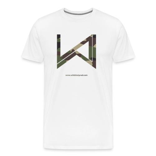 Wild Shot Militaire - T-shirt Premium Homme