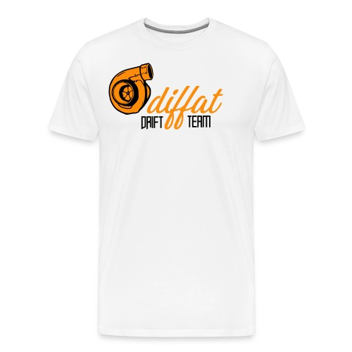 Odiffat Drift Team - Premium-T-shirt herr