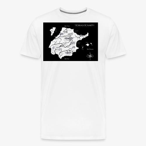 Mapa Narph - Camiseta premium hombre