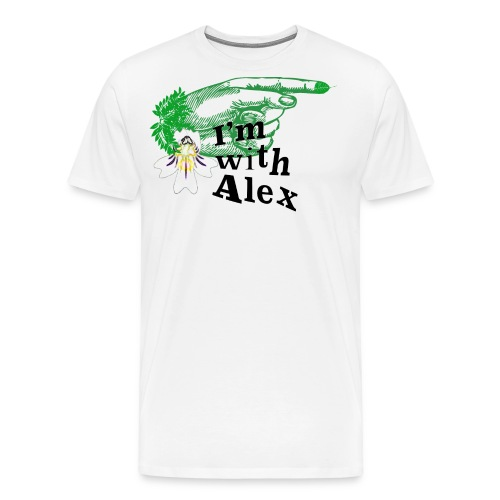 imwithalex3 png - Men's Premium T-Shirt
