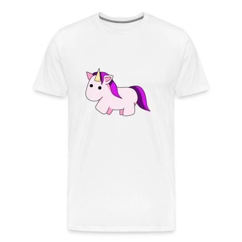 DefEinhornliebe png - Männer Premium T-Shirt