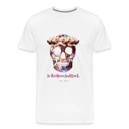calaverfloreadafinal_4000 - Camiseta premium hombre