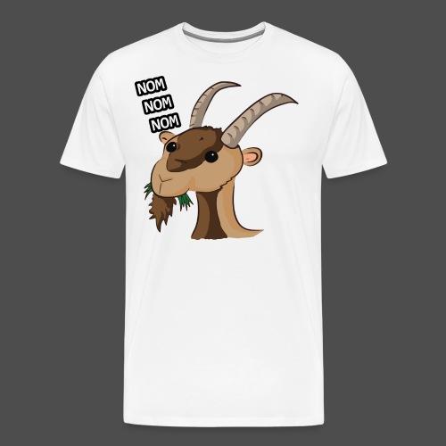 Lo stambecco puccioso - Maglietta Premium da uomo
