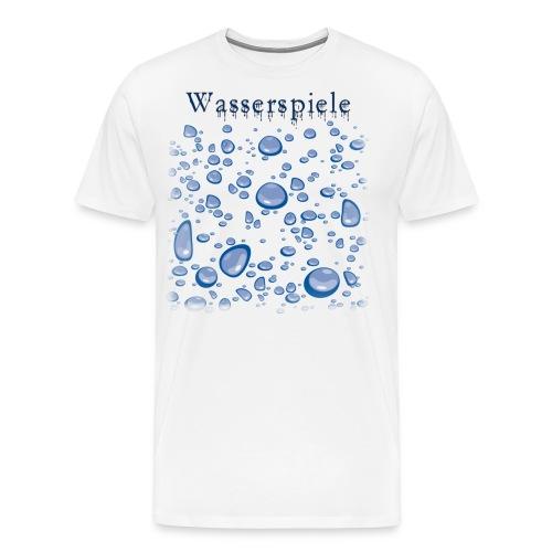 wasserspiele - Männer Premium T-Shirt