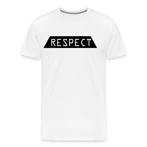 Respect - Premium T-skjorte for menn