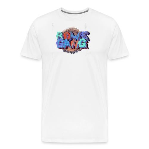 RoweGang Basic Logo - Miesten premium t-paita