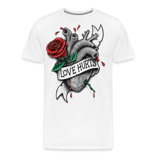 Love Hurts - Men's Premium T-Shirt