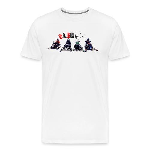 SledLight/test - Premium-T-shirt herr