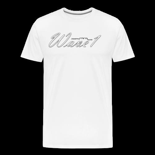 Wave1 SE - Herre premium T-shirt