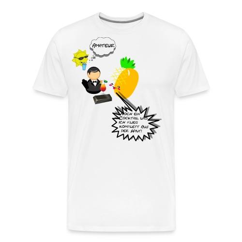 Summer Ananas - Männer Premium T-Shirt