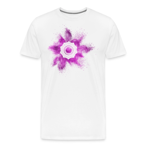 Kronenchakra - Männer Premium T-Shirt