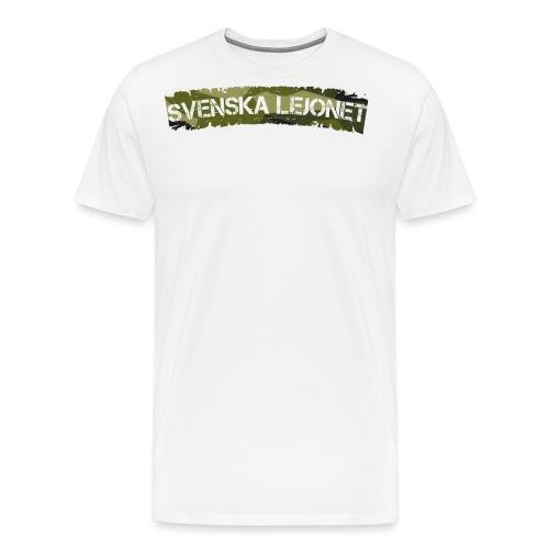 Svenska Lejonet M90 Patch - Premium-T-shirt herr
