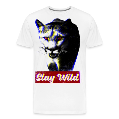 Stay Wild - RGB effect - Men's Premium T-Shirt