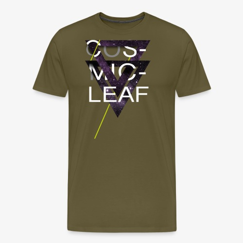 Cosmicleaf Triangles - Men's Premium T-Shirt