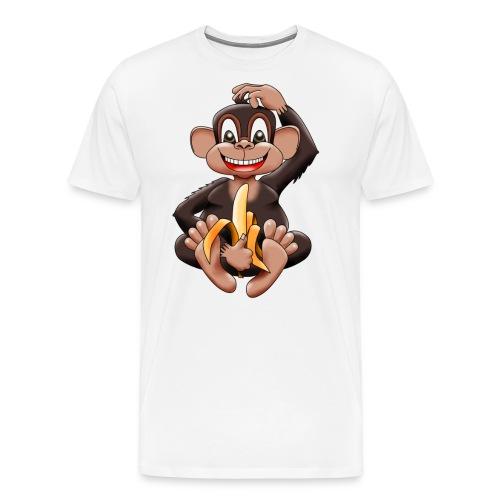 Bananenaffe - Männer Premium T-Shirt