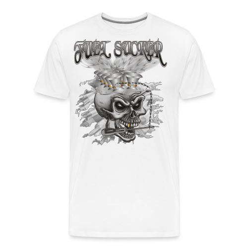 Fuel Sucker Racing Skull - Männer Premium T-Shirt