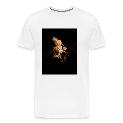 Bonfire Print - Men's Premium T-Shirt